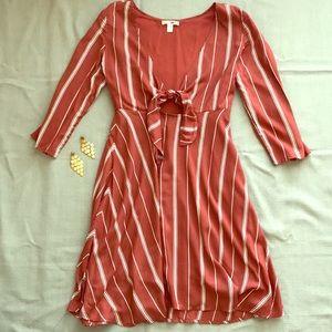 Amuse society stripe dress